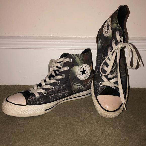 Converse Shoes - Converse the Dark Knight Rises Batman sneakers 96946f150
